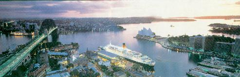[A picture of Sydney from south]